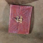 Les carnets cuir avec gravures